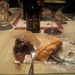 Apfel Strudel with Chocolate Ice Cream and Spital Beer!
