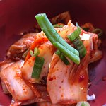 Kimchi (fermented spicy cabbage)