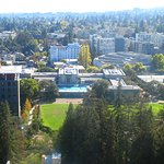 Panorama on Sather Tower