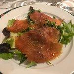 Cenone: Salmone marinato al lime ed origano