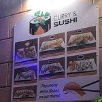 Фотография Curry and Sushi
