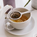 We serve a selection of specialty teas