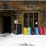 Sledges winter pub