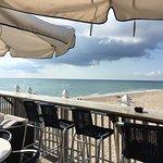 Breakfast on the pier