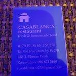 Photo of Casablanca restaurant
