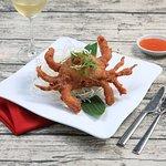 Soft sheeled crab