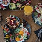 Große Frühstücksauswahl