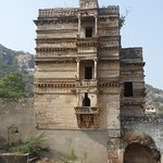 several storeys high