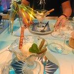 Dessert sorbet citron vodka