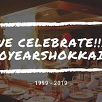 2019 is the year we celebrate 20 years Hokkaido