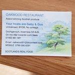 Photo de Oakwood Restaurant