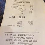 Espace Cafe & Espresso Barの写真