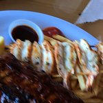 Shrimps and ribs