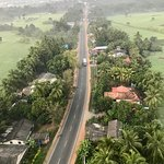 Main Road from above