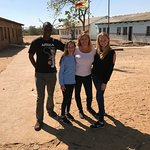 Visiting the Monde School in Zimbabwe