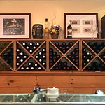 Some of the selections, waiting behind the bar for purchase or to be tasted.