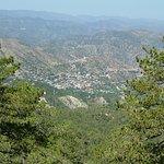 Вид на деревню Педулас