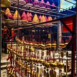 Incense coils and bells