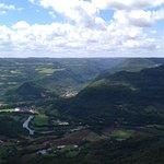 Vista pro Vale do Cai.