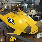 Another exhibit at the Frontiers of Flight Museum is the astonishing Chance Vought experimental aircraft from the early 1940's, also known as the Flying Pancake. Perhaps the cause of some of the stories relating to Flying Saucer sightings ?