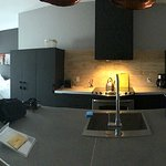Panorama of room at Les Lofts Du Tresor, Quebec City