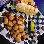 Small Town Chili Cheese Hotdog & Tater Totes
