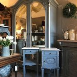 We source beautiful furniture from France,which is then  hand painted in Annie Sloan Chalk paint.