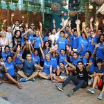 We organized a Christmas Party for our volunteers. Great time and experience at Selina Hotel in Playa del Carmen.  #beachcleanup #beachclean #beach #islamujeres #privatetours #beachbar #foodie #foodlover #traveltips #cancun #mexico #scuba #diving #scubadiving #musa #playadelcarmen #puertomorelos #tulum #snorkeltour #kaytours