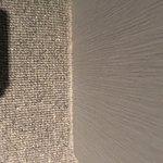 dust on carpets at edges