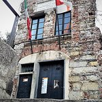 This is Christopher's Columbus house in Genoa. Tiny, isn't it?