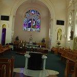 Looking towards altar