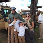 Lunch break stop in the North Serengeti.