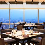 Enjoy panoramic views of the city skyline while savoring delicious melt in the mouth kebabs.