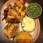 Whole chicken w/ 4 sides family dinner