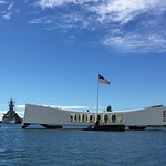 Photo of USS Arizona Memorial