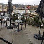 Starbucks outside seating
