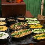 Almoço regional preparado no fogão a lenha! Foto: Thyago Sabino