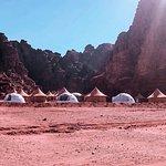 vistas del campamento