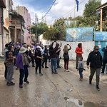 Ramallah Tour with a group visiting from New York.