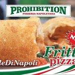 prohibition pizza Жаренная пицца pizzafritta  настолько известна в Неаполе  насколько неизвестна у нас в Харькове,  поэтому мы в субботу 12 января приглашаем  вас познакомиться с этой необычной  неаполитанской пиццей.  Всех угощаем Gnocco Fritto