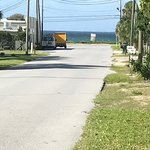 You can see the beach from the front yard of B&B