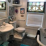 Your Bathroom if you stay in The Original Art Bedroom in B&B