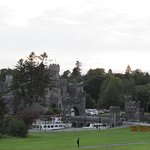 View of Ashford Castle from the road.