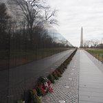 越战纪念碑照片