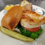 Grilles chicken sandwich