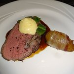 Argentinisches Roastbeef mit Bohnen und Speckkartoffel