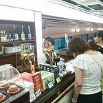 青のシンフォニー号(車内レストランカウンター)