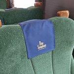 青のシンフォニー号(座席シート)