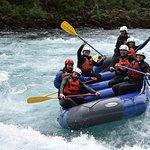 Rafting in Petrohué!