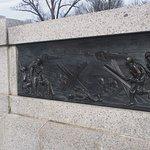 Foto van Het National World War II Memorial